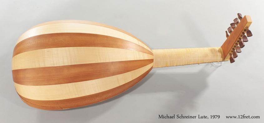Michael Schreiner Lute, 1979 Full Rear View