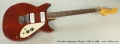 Microfrets Signature Electric, 1967 to 1969 Full Front View