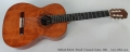 Mikhail Robert 'Marah' Classical Guitar, 1991 Full Front View