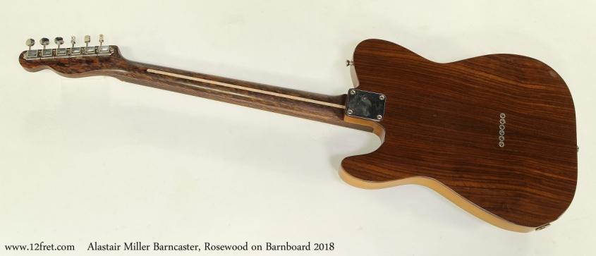 Alastair Miller Barncaster, Rosewood on Barnboard 2018 Full Rear View