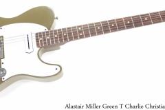 Alastair Miller Green T Charlie Christian, 2021 Full Front View