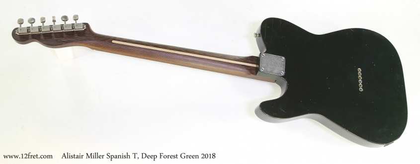 Alistair Miller Spanish T, Deep Forest Green 2018   Full Rear View