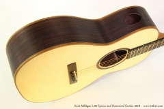 Scott Milligan L-00 Spruce and Rosewood Guitar, 2018   Side Port View