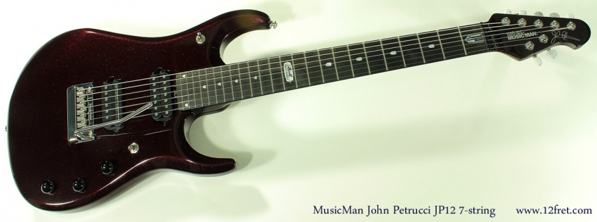Ernie Ball MusicMan JP12 7-string full front view