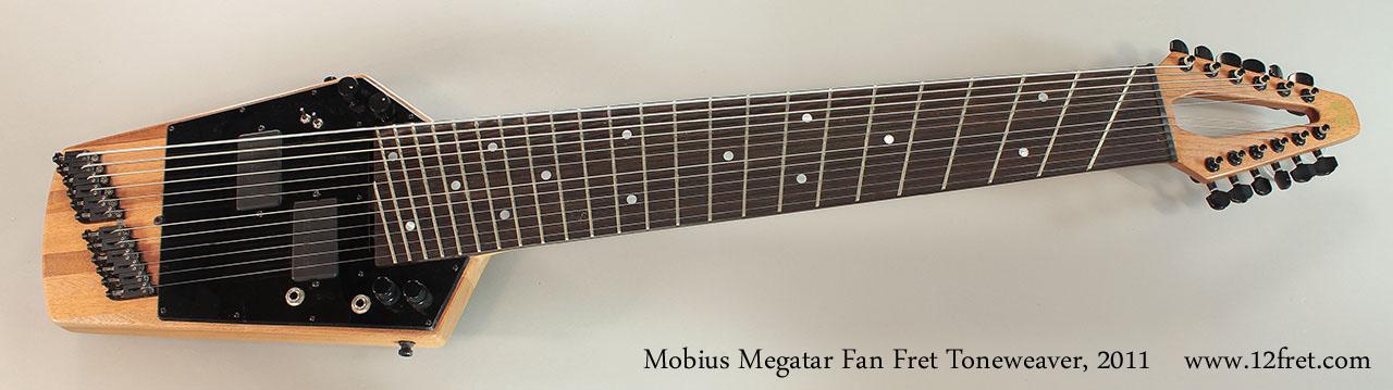Mobius Megatar Fan Fret Toneweaver, 2011 Full Front View