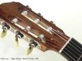 Edgar Monch Classical Guitar, 1965 head front