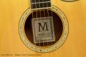 Morgan Concert Cutaway Koa 2002 label