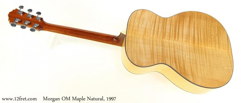Morgan OM Maple Natural, 1997 Full Rear View