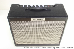 Morris Mini Muscle 20 1x12 Combo Amp, 2005 Full Front View