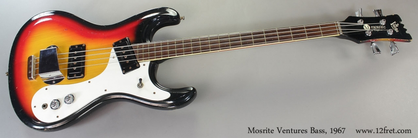 Mosrite Ventures Bass, 1967 Full Front View