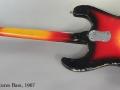 Mosrite Ventures Bass, 1967 Full Rear View