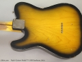 Nash Guitars Model T-2 HB Sunburst, 2014 Back
