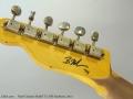 Nash Guitars Model T-2 HB Sunburst, 2014 Head Rear