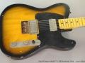 Nash Guitars Model T-2 HB Sunburst, 2014 Top
