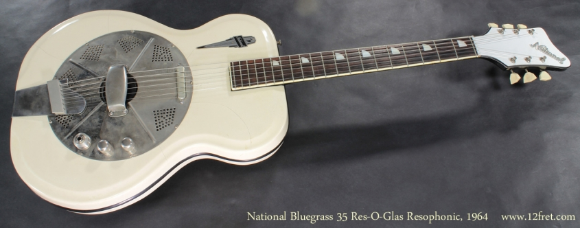 National Bluegrass 35 Res-O-Glas 1964 full rear view
