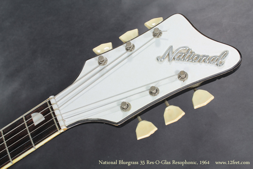 National  Bluegrass 35 Res-O-Glas 1964 head front view