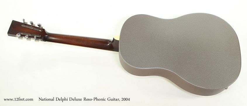 National Delphi Deluxe Reso-Phonic Guitar, 2004 Full Rear View