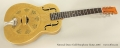 National Dueco Gold Resophonic Guitar, 2016 Full Front View