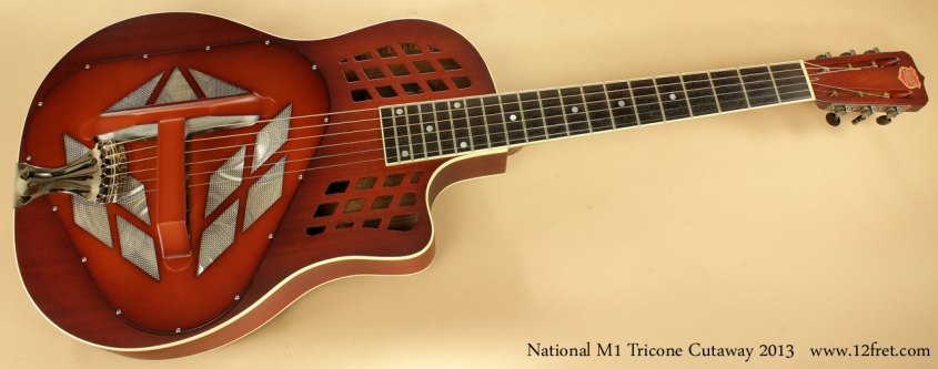 National M1 Tricone Cutaway 2013 full front view
