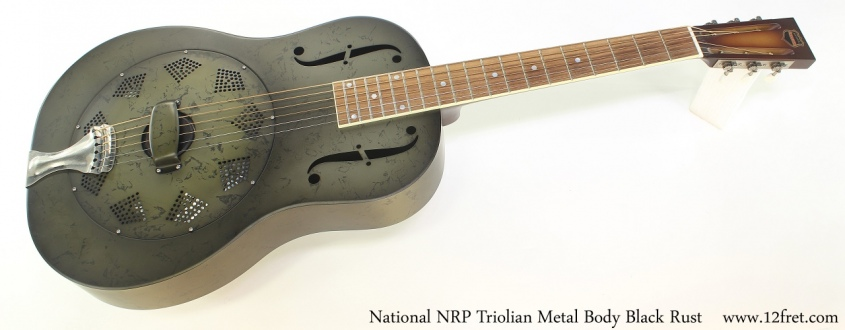 National NRP Triolian Metal Body Black Rust Full Front View