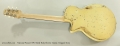 National Pioneer RP1 Metal Body Electric Guitar, Chipped Ivory Full Rear View