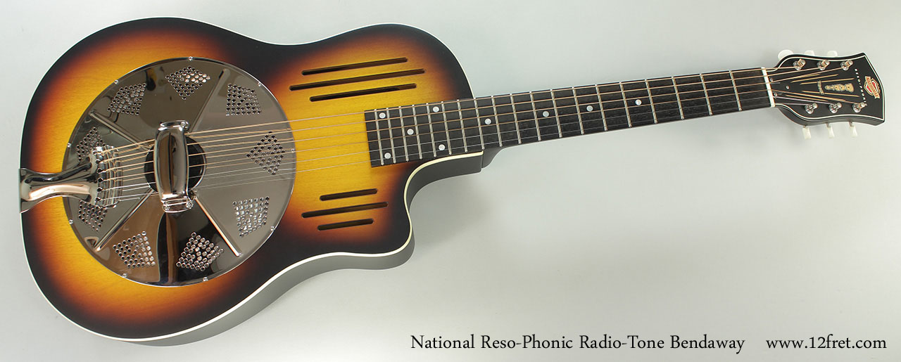 National Reso-Phonic Radio-Tone Bendaway Full Front View