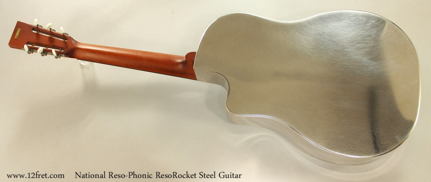 National Reso-Phonic ResoRocket Steel Guitar Full Rear View