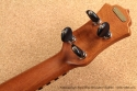 National Resophonic  Rope Bound Koa Resonator Ukuleles head rear