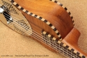 National Resophonic Rope Bound Koa Resonator Ukuleles heel 2