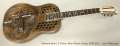 National Style 1.5 Tricone Reso-Phonic Guitar, NOS 2012 Full Front View