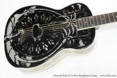 National Style O 14 Fret Resophonic Guitar  Top View
