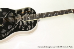 National Resophonic Style O Nickel Plate, 2015  Full Front View