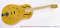 National Triolian Polychrome 'Palm Yellow' Resophonic Guitar, 2010 Full Front View