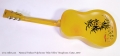 National Triolian Polychrome 'Palm Yellow' Resophonic Guitar, 2010 Full Rear View