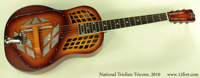 National Triolian Tricone 12-fret 2010 full front