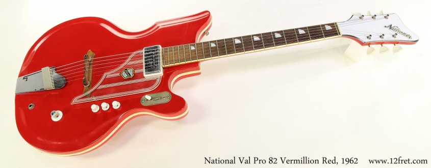 National Val Pro 82 Vermillion Red, 1962 Full Front View