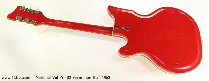 National Val Pro 82 Vermillion Red, 1962 Full Rear View