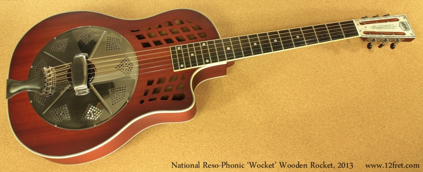 National Wocket Wooden Rocket full front view