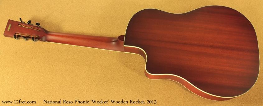 National Wocket Wooden Rocket full rear view