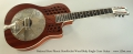 National Reso-Phonic ResoRocket Wood Body Single Cone Guitar Full Front View