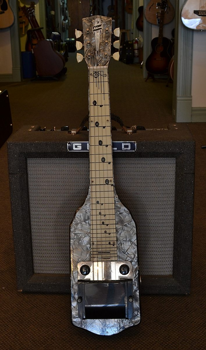 National_Grey Pearl Lap Steel(C)