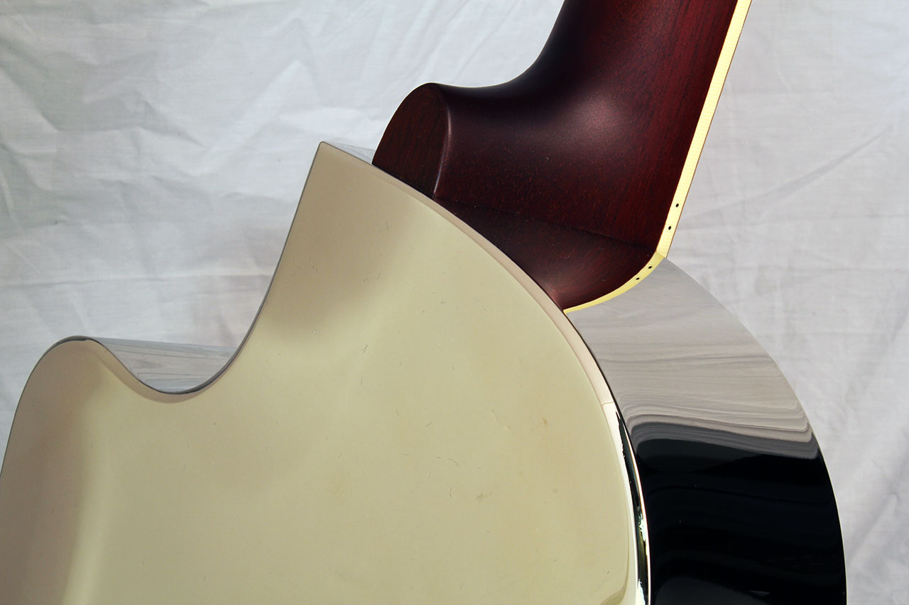 National Style 1 Tricone Cutaway Neck Joint