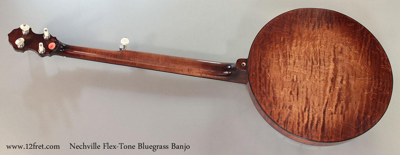 Nechville Flex-Tone Bluegrass Banjo full rear view