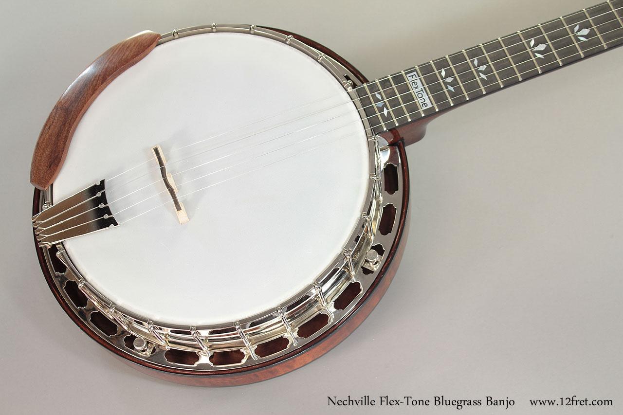 Nechville Flex-Tone Bluegrass Banjo top