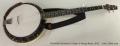 Nechville Geometric Eclipse 5-String Banjo, 2012  Full Front View