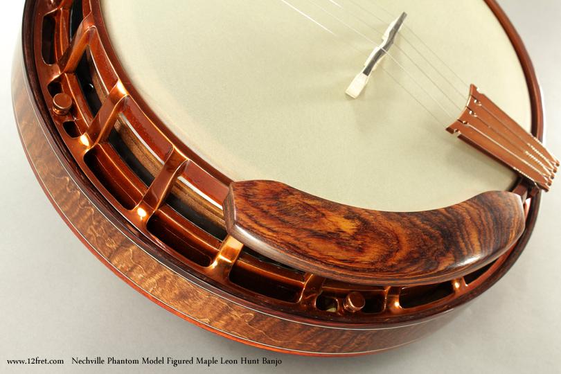 Nechville Phantom Model Leon Hunt Banjo armrest
