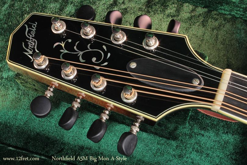 Northfield A-Style A5M Big Mon mandolin head front
