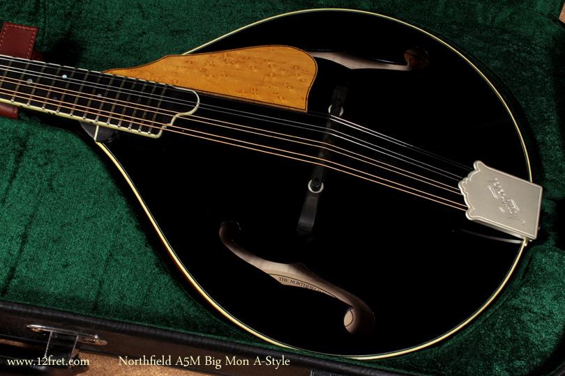 Northfield A-Style A5M Big Mon mandolin top