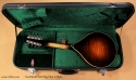 Northfield A-Style A5M Big Mon mandolin case open rear view