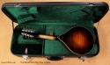 Northfield A-Style A5M Big Mon mandolin case open rear view